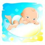 婴孩飞行 免版税库存照片