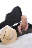 婴孩case1 guit 免版税库存照片