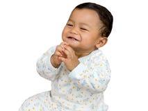 婴孩cheerfull 库存图片