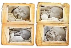 婴孩grunge 库存照片