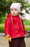 婴孩portrit 免版税库存照片