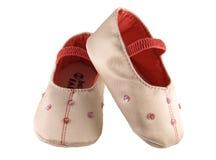 婴孩s鞋子 免版税库存图片