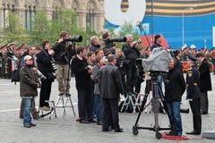 媒体人 免版税图库摄影