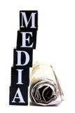 媒体 免版税图库摄影
