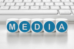 媒体 免版税库存照片