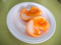 媒介煮沸的鸡蛋 免版税库存图片