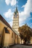 媒介的圣玛格丽特教会,罗马尼亚 免版税库存图片