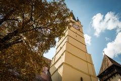 媒介的圣玛格丽特教会,罗马尼亚 库存图片