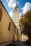 媒介的圣玛格丽特教会,罗马尼亚 图库摄影
