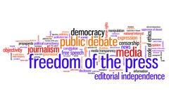 媒介自由 免版税库存图片