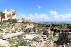 黎巴嫩轮胎 免版税库存图片