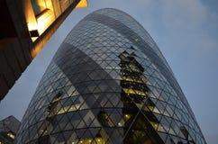 嫩黄瓜,伦敦,英国 免版税库存照片