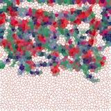 嬉戏的桃红色抽象图象 免版税库存图片