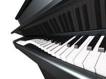 嬉戏的钢琴 免版税库存图片