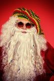 嬉皮圣诞老人 免版税图库摄影