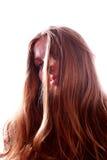 嬉皮的妇女年轻人 免版税图库摄影