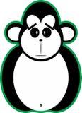 猴子传染媒介 皇族释放例证