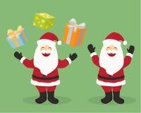 子句例证圣诞老人 图库摄影
