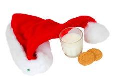 子句午餐圣诞老人 免版税库存照片