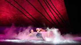 """妻子和孩子是海丝绸Road†一个甜负担舞蹈戏曲""""The梦想  影视素材"""