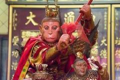 猴子国王在曼谷唐人街 库存图片