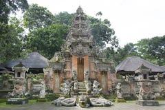 猴子寺庙 库存图片