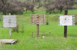 子弹射击的地方 库存图片