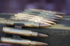 子弹带 免版税库存图片