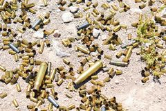 子弹的另外类型和大小 库存照片