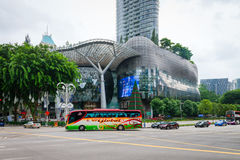 离子果树园商城和住所在新加坡 库存图片