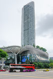 离子果树园商城和住所在新加坡 免版税库存图片