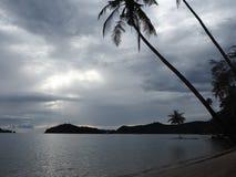 猴子海滩,酸值Mak,泰国 图库摄影