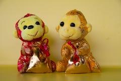 猴子玩偶 库存照片