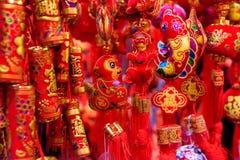 猴子的中国年 库存图片