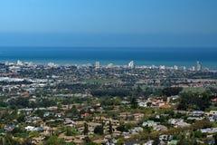 子线,南非顶上的看法  库存图片