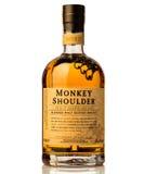 猴子肩膀被混和的苏格兰威士忌酒 免版税图库摄影