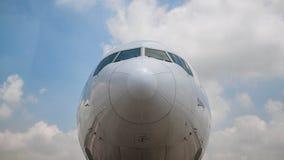 鼻子航空器 库存照片