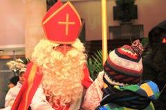 子项克劳斯・圣诞老人 库存图片