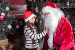 子项克劳斯・圣诞老人 免版税库存照片