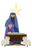 子项基督 皇族释放例证