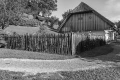 子Pannonian房子 库存照片