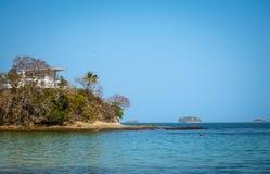 孔塔多拉海岛 免版税库存照片