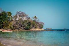 孔塔多拉海岛 免版税库存图片