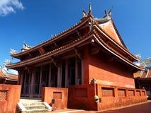 孔子・台南寺庙 免版税库存图片