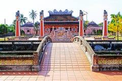 孔子寺庙会安市,越南联合国科教文组织世界遗产名录 库存照片