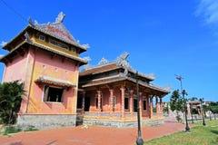 孔子寺庙会安市,越南联合国科教文组织世界遗产名录 库存图片