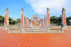 孔子寺庙会安市,越南联合国科教文组织世界遗产名录 免版税图库摄影