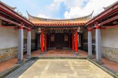 孔子寺庙在新北市 库存照片