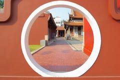 孔子的寺庙在彰化,台湾 免版税图库摄影