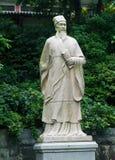 孔子雕象在中国 库存图片